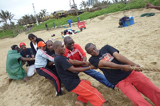 Field Olympics team building